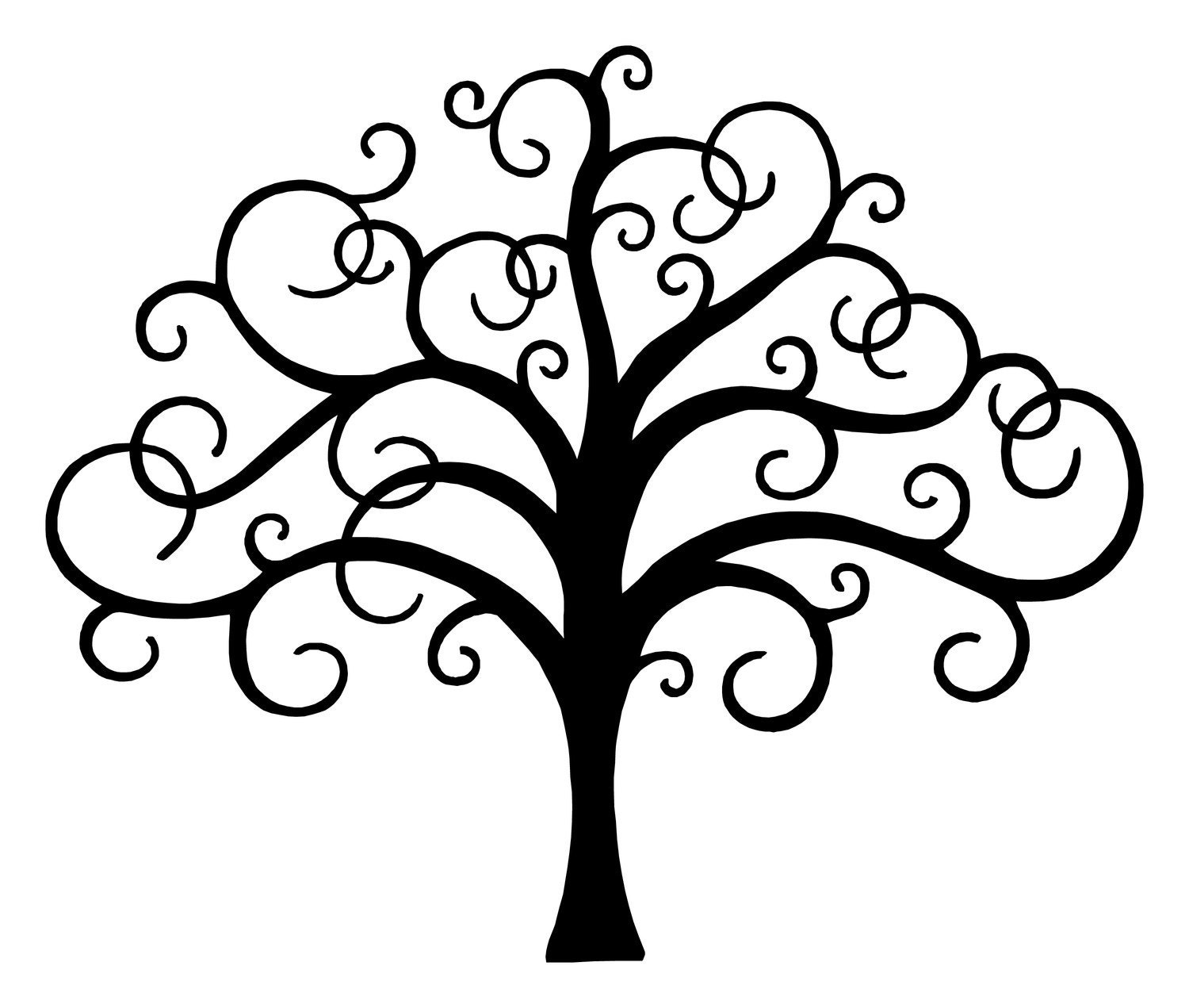 tree of life    vinyl wall decal    home decor    living room