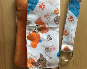 Cat iPhone wallet