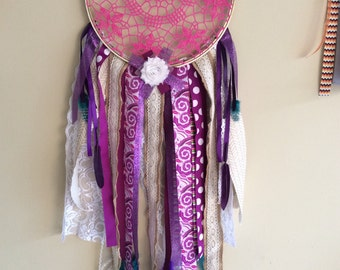 Dream Catcher, Pink and Pruple
