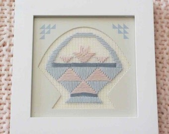 Long Stitch Basket