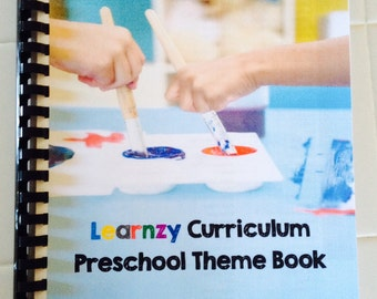 Learnzy Preschool Curriculum and Preschool Themed Daily Lesson Plans