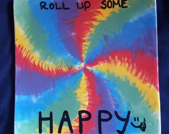 Roll Up Some Happy Rolling Plate