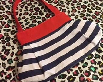 Red White & Blue Reversible Shoulder Bag