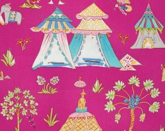 Fat quarter - Pink Haute Girls - Dena Designs - Free Spirit cotton quilt fabric