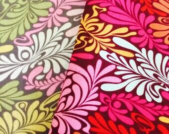 Half yard bundle - Camo Deluxe Duo - Tula Pink Moon Shine cotton quilt fabric