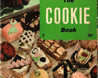 The Cookie Book - Culinary Arts Institute - 1971 - Vintage Book