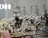 10 metal flowers for decoration shabby crown online course