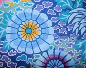 DREAM in BLUE PWGP148 1/2 Kaffe Fassett Fabric for  Westminster Fabric Cotton, Quilt Craft and Apparel fabric