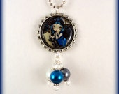 """Jasmine Becket Griffith  """" Quoth the Raven Nevermore """"  necklace"""