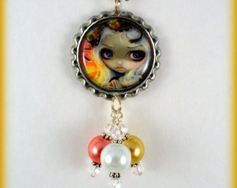 "Jasmine Becket Griffith  "" Windswept ""  necklace"