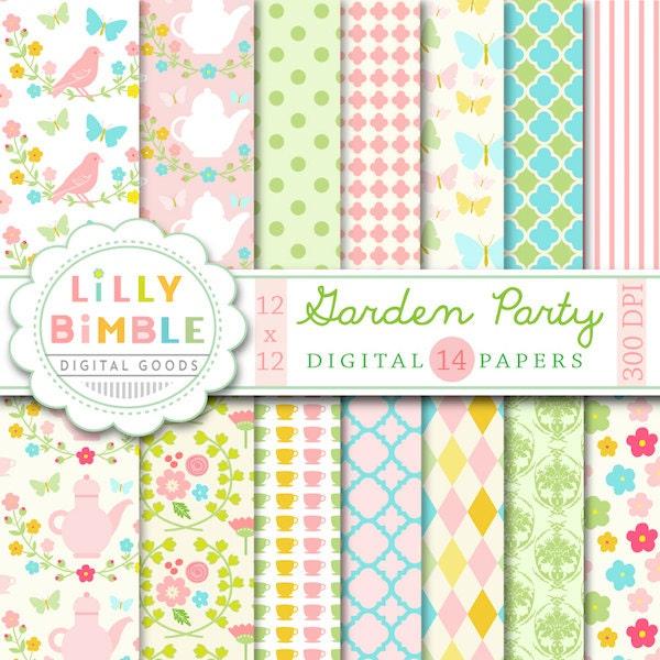 Garden Party Paper Pieced Block. Part of the Garden Party Blog Hop ...