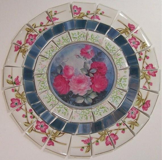 China Mosaic Tile Set 8 Arrangement Design Vintage