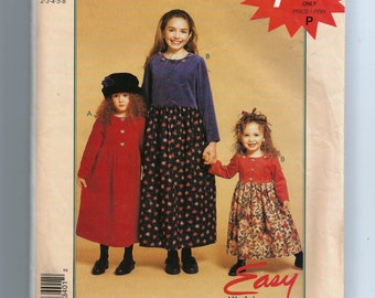 McCall's Children's and Girls Dress Pattern P340
