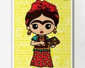 Frida Painting Reality