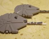 MillenniumFalcon Hair Pins
