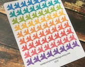Airplane Travel Stickers for Erin Condren Life Planner (ID183)
