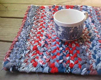 FREEDOM  rag weaving TaBLE RuG  Placemat