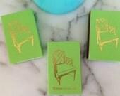 PALM BEACH CHAIR Lime Green Matchboxes