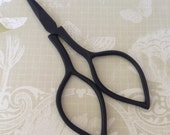 black DEVON scissors for knitting, cross stitch, crafts, embroidery