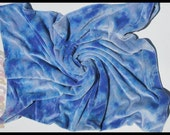 Hand Dyed Organic Bamboo Velour Pillowcase
