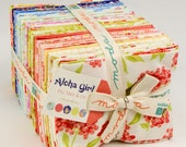 SALE - Aloha Girl Fat Quarter Bundle from Fig Tree and Co. for Moda Fabrics, 38 fat quarters + 2 panels
