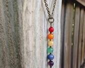 Rainbow Pride Necklace