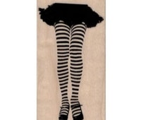 rubber stamps  striped legs leggings skirt girl body parts  no 19639 stamping craft supplies scrapbooking doll