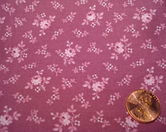 QUARTER YARD vintage fabric DOLL sewing Blythe tiny print calico quilt quilter quilting