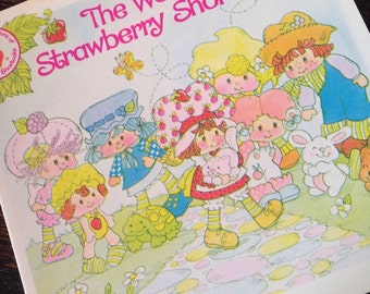 Strawberry Shortcake Vintage Catalog FREE SHIPPING