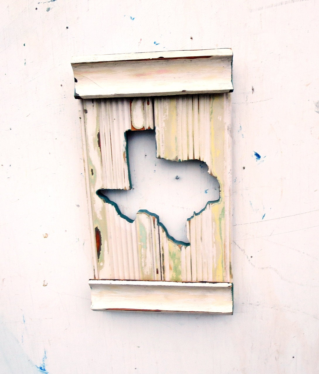 Texas Wall Art Rustic Wood Decor Rustic Texas Decor State