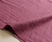 Japanese Fabric - Kobayashi solid double gauze - wine - 50cm