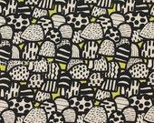Japanese Fabric - Mushrooms - C - fat quarter
