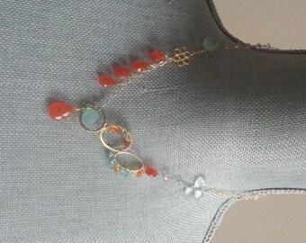 Agape Gems, Carnelian Abstract