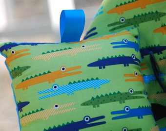 Shopping Cart Cover for Girls- Boutique Shopping Cart Cover- Crocodiles