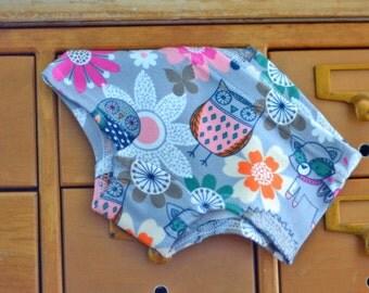 Woodland Creatures - custom children's underwear, girls hipster panties (made to order)