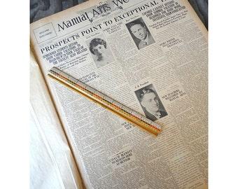 1927 Manual Arts Weekly Los Angeles CA - Bound Newspapers