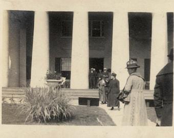 Vintage photo Early Visitors to The White house Washington DC
