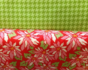 Ginger Snap - By Heather Bailey - Half Yard Set - 2 Prints - 9.75 Dollars