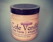 Coffee Scented Soap Cafe Vanilla 8 oz Creme Fraiche Whipped Soap VEGAN