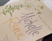Daisy Wedding/Bridal Shower Invitation (printable)