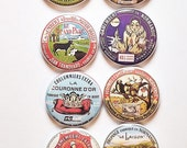 Vintage French Cheese Label Flair