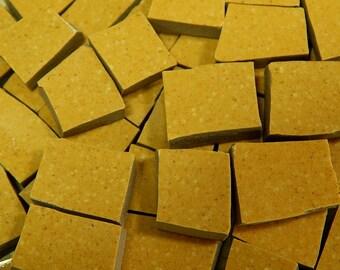 Mosaic Tiles - SToNE GRoUND MuSTaRD - Broken China Mosaic Tiles