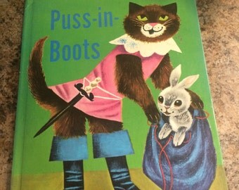 Puss in Books Rand McNally Book