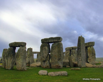 Stonehenge print, Stonehenge art, Neolithic art, architectural photo, Stonehenge photo, wonders of the world, prehistoric