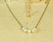 Avon Necklace with Graduated Pearls