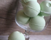 Eucalyptus & Spearmint Bath Bombs - made with Olive Oil and Shea Butter