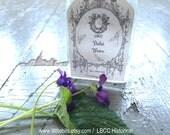 1893-1927 Violet Water- Historical Label