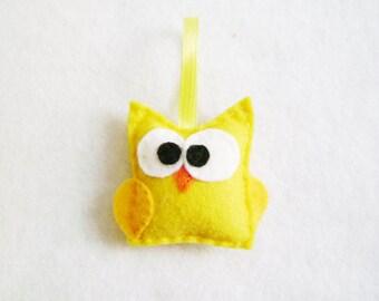 Felt Ornament - Ignatius the Baby Owl
