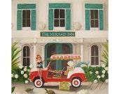 The Mermaid Inn. Art Print