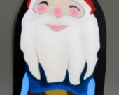 Gerome the Gnome Polymer Clay Cane -'Enchanted Forest' (42dd)